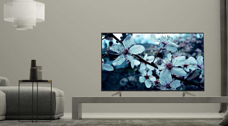 Android Tivi Sony 4K 60 inch KD-60X8300F - Thiết kế lịch lãm