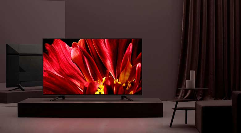 Android Tivi Sony 4K 75 inch KD-75Z9F - thiết kế sang trọng